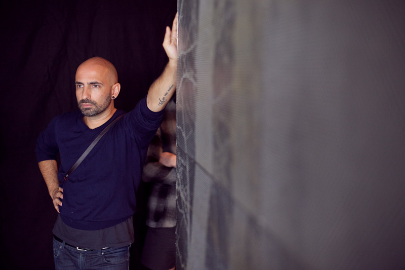SDC Creative Director Rafael Bonachela looks on at the production