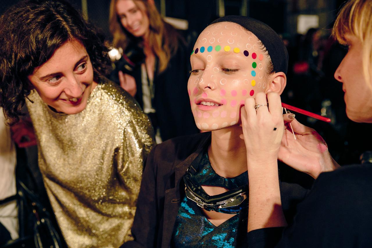 Stylist Caterina Scardino checks in on Ollie Henderson