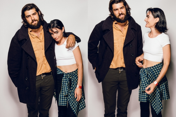 Cam Avery from Tame Impala and The Growl - Isabella Manfredi of The Preatures