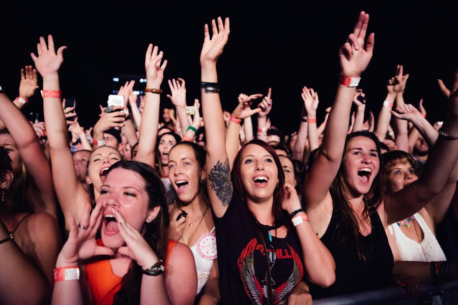 : Triple J's Beat the Drum concert The Domain Sydney