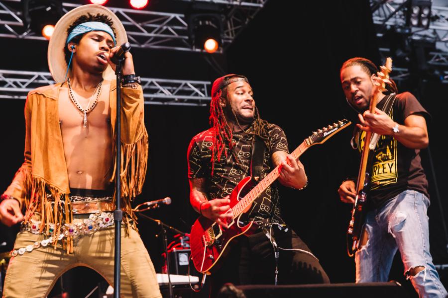 Brisbane Laneway Festival 2015 : Raury RNA Showgrounds Brisbane