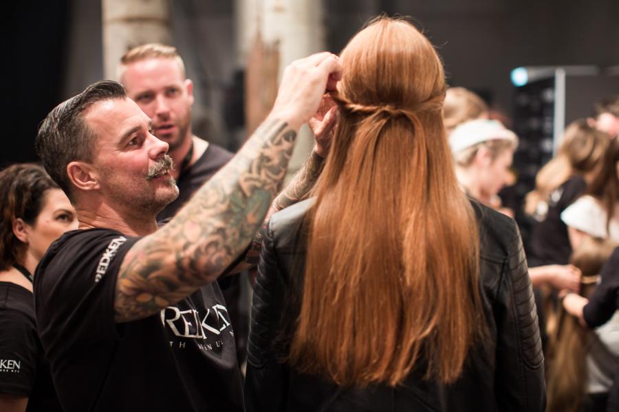 : Kate Sylvester MBFWA Backstage 2015 Carriageworks Sydney