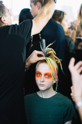 : Romance Was Born MBFWA backstage 2015 Art Gallery of NSW Sydney
