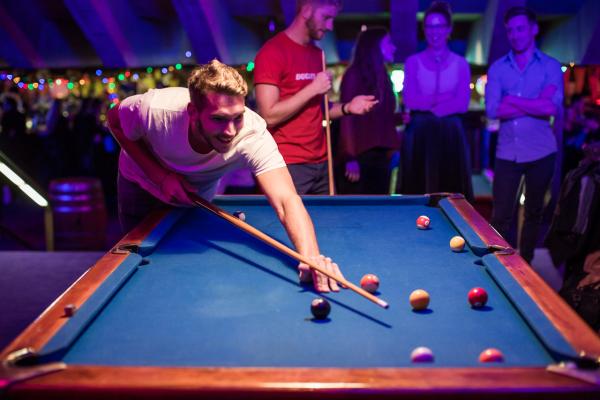 : Deep Purple Pool Hall