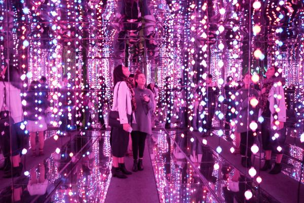 Vivid Sydney 2015 : Internal Galaxy Dawes Point