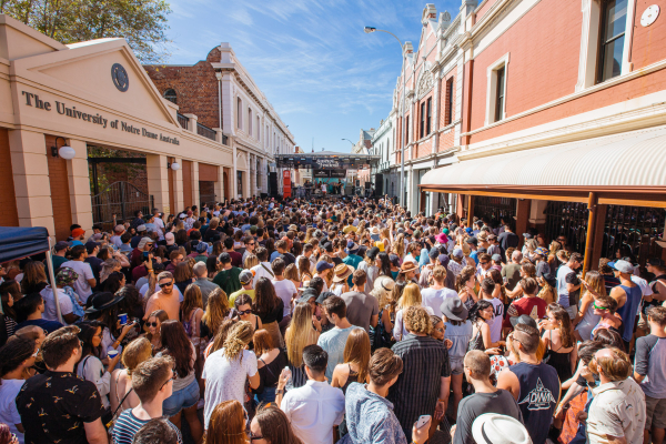 : Future Classic - Red Bull Stage - Fremantle Laneway Festival 201 Laneway Festival Fremantle Fremantle