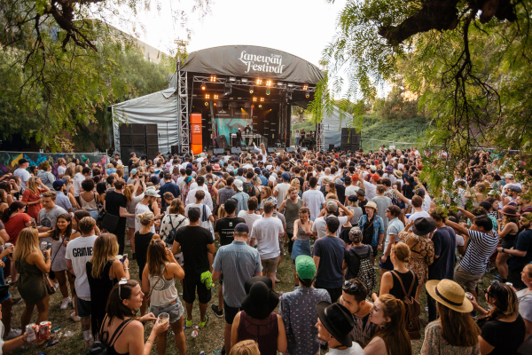 : Red Bull Stage - Melbourne Laneway Festival 2016 Footscray Melbourne